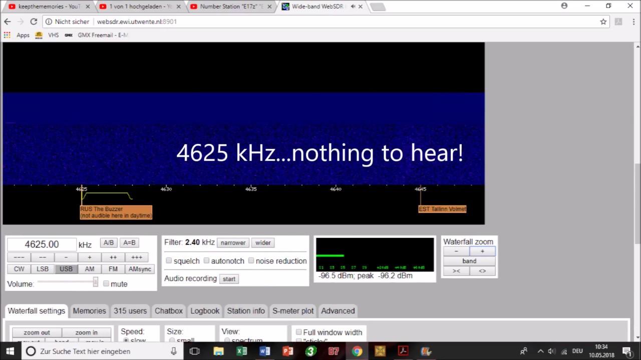 UVB 76 - MDZhB - ZhUOZ- The Buzzer malfunctioning? 10 05 2018, 08:30 UTC
