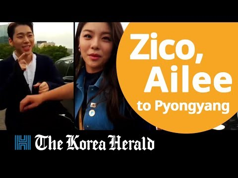 Which K-pop celebrities are going to Pyongyang?
