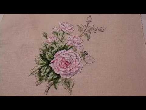 Veronique Enginger. Роза в винтажном стиле - завершение
