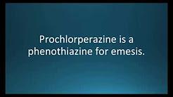 How to pronounce prochlorperazine (Compazine) (Memorizing Pharmacology Flashcard)