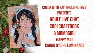 Adult Color & Chat | Coolcraftbook & Happy Mail