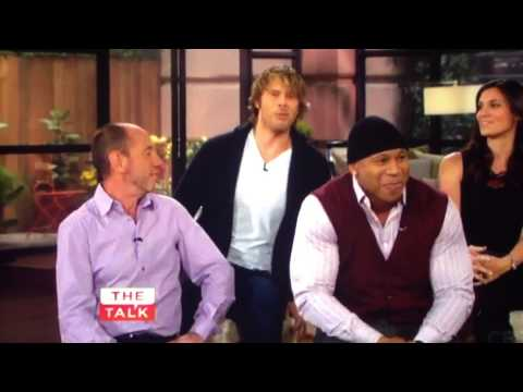 Eric Christian Olsen on Wyatt at Daniela's Party  NCIS: Los Angeles Cast on The Talk 15102013