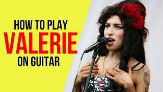 Download lagu How to Play Valerie on Guitar MP3