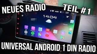 BMW E36 | 1 Din Universal Android Radio - Teil #1
