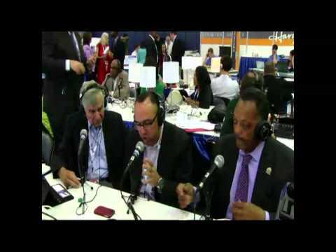 LiveStream Jeff Santos Show - Gov Mike Dukakis - the Rev Jesse Jackson DNC 9-6-12
