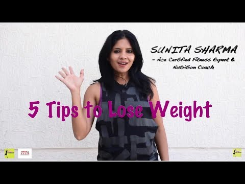 How to Lose weight II 5 easy steps to lose weight II weight loss in 5 steps II WEIGHT LOSS TIPS