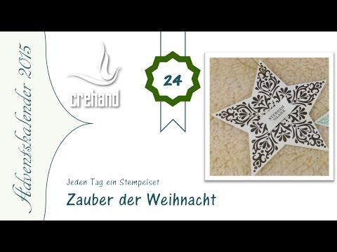 adventskalender 2015 1 tage bis weihnachten anh nger zauber der weihnacht mit stampin 39 up. Black Bedroom Furniture Sets. Home Design Ideas
