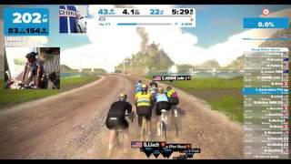 Zwift WBR Race - 1 lap Watopia - 🏆Win! 🇸🇬 :)