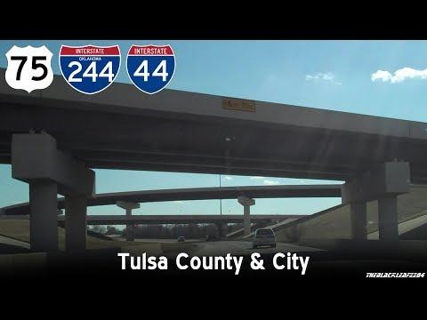 US 75/I-44 through Tulsa, OK