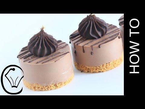 EASY Mini Chocolate Cheesecake - Eggless No Bake!