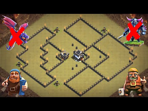 New Best Th9 War Base 2019 | Defense Against Th9 GoWiPe, DragLoon | Clash Of Clans
