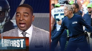 Nick Wright and Cris Carter react to the Packers Week 1 win over the Seahawks | FIRST THINGS FIRST