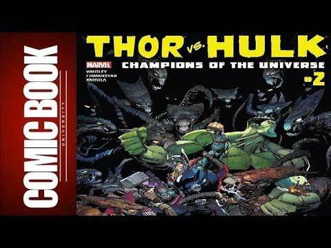 Thor vs. Hulk – Champions of the Universe #2 | COMIC BOOK UNIVERSITY