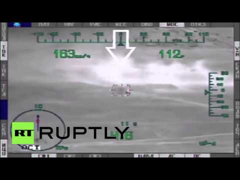 Syria: Russian attack helicopters annihilate IS targets