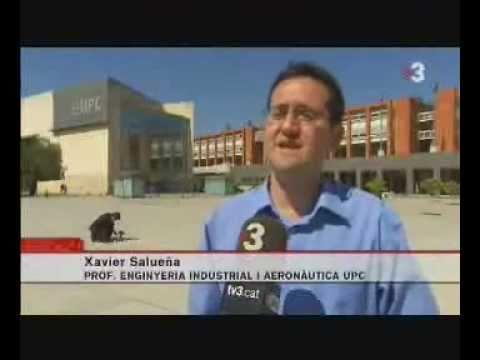 UPC - ESEIAAT // TV3 DAIH2Orean, el cotxe radio control d'hidrògen