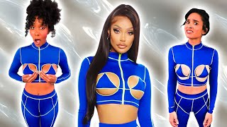 Trying CRAZY Matching Sets from Fashion Nova?!