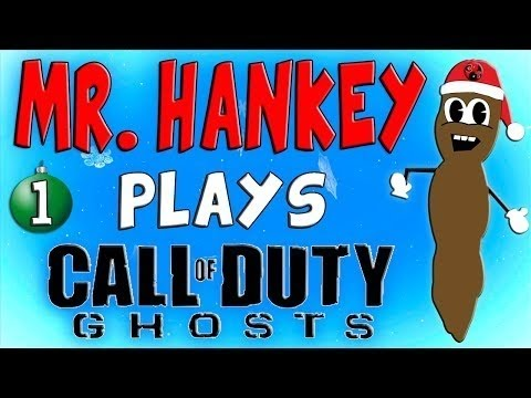 Mr Hankey (The CHRISTMAS Poo) PLAYS Call Of Duty Ghosts!