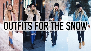 MY WINTER STYLE: Outfits for the Snow!