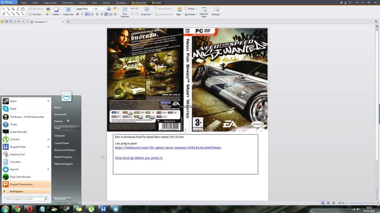 Nfs most wanted black edition 1. 84gb torrent download pc game.
