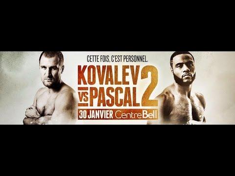 Prono Express: Kovalev vs Pascal 2