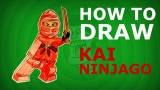 How to draw KAI step by step - NINJAGO HD