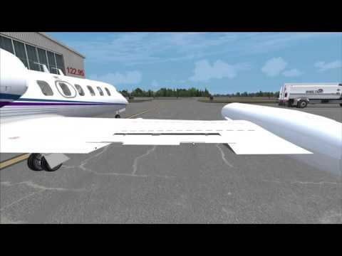 Flysimware Learjet 35A - Intro-Overview and Engine Start