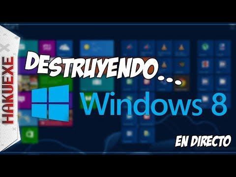 Destruyendo... Windows 8 (Directo Parte 1) 🔴