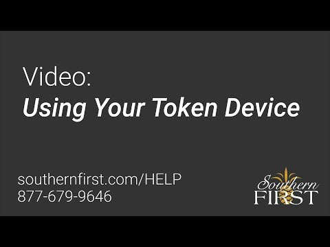 Using Your Token Device