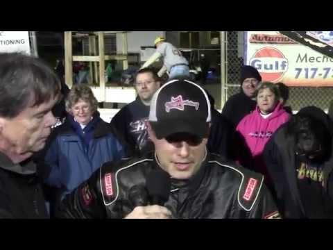 Williams Grove Speedway 410 Sprint Car Victory Lane 10-18-14