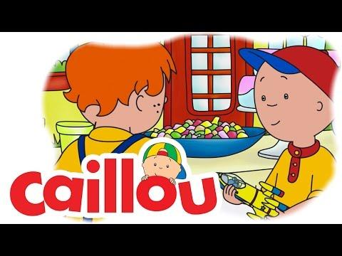 Caillou - Sharing the Rocketship (S05E07) | Cartoon for Kids