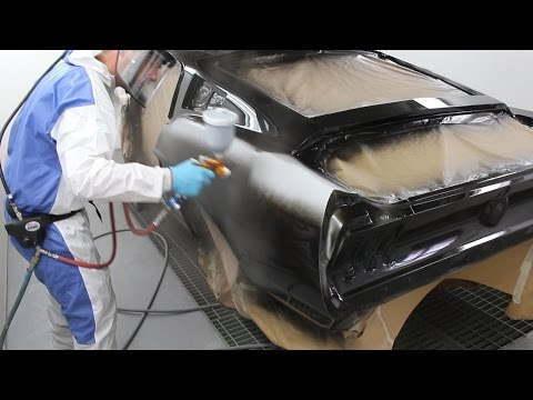Painting my 1967 Ford Mustang Fastback!