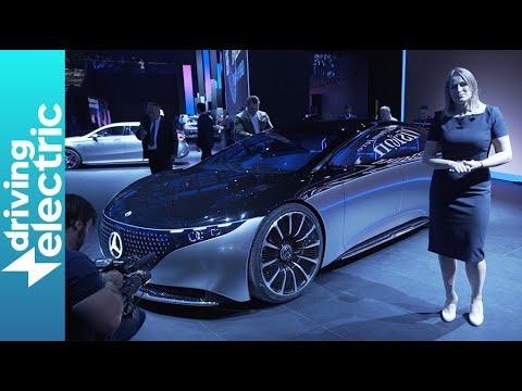 Mercedes Vision EQS revealed - Frankfurt Motor Show - DrivingElectric