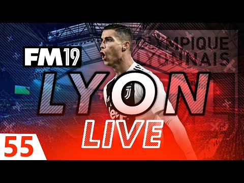Football Manager 2019 | Lyon Live #55: Injury Crisis #FM19