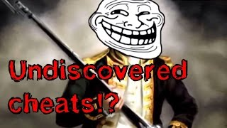 AoE3 undiscovered cheats?!