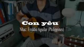Con yeu (Hòa tấu - quạt Ballad) - Anhbaduy Guitar - Cà Mau