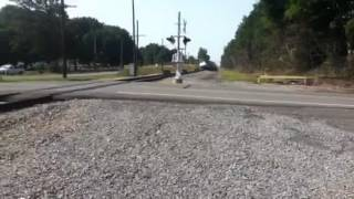 110 mph Amtrak lakeshore limited at Colonie, NY with private car