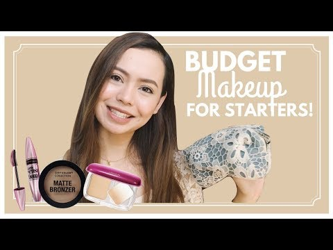 BUDGET MAKEUP FOR STARTERS: All Prices Below P1500 Combined! ❀ Micah Louisse