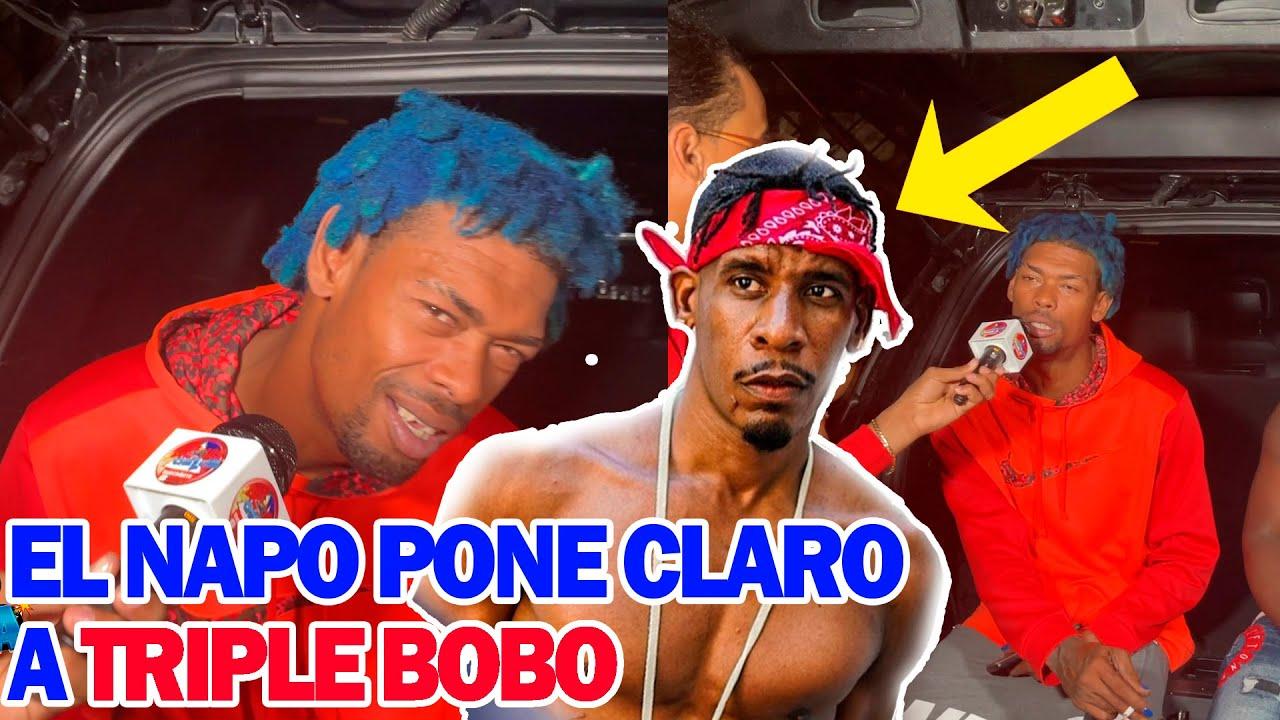 EL NAPO PONE CLARO A TRIPLEBOBO