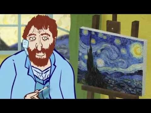 Vincent Van Gogh cuts off his ear - Think Beyond Your Ear