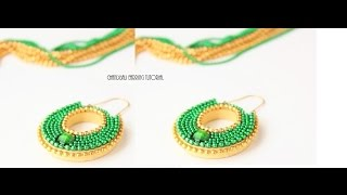 How to make Quilled Chandbali earrings/Paper quilling Chandbali earring tutorial