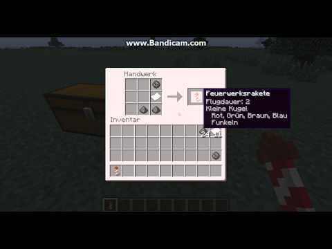 minecraft wie craftet man raketen tutorial youtube. Black Bedroom Furniture Sets. Home Design Ideas