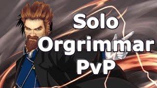 5.4 Fire Mage - Solo Orgrimmar PvP! [Warmane Private Server]