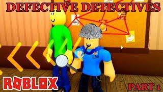 EFC IST EIN DEFEKTer DETECTIVE IN DIESEM MYSTERY ADVENTURE - TEIL 1 | ROBLOX Abenteuer