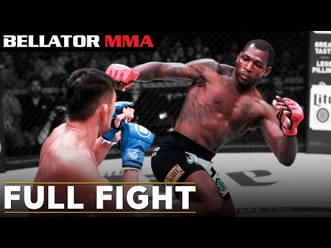 Bellator 239's Ed Ruth destroying Kiichi Kunimoto (Full fight from Bellator's YouTube channel)