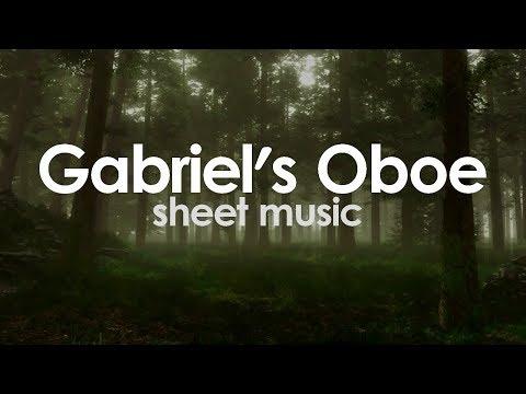 Gabriel's Oboe - E. Morricone - Sheet Music