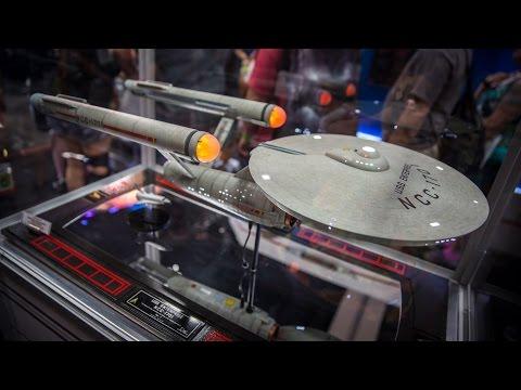 Star Trek USS Enterprise Model from QmX