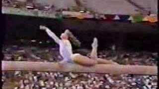 Kim Zmeskal - 1991 Worlds AA - Balance Beam