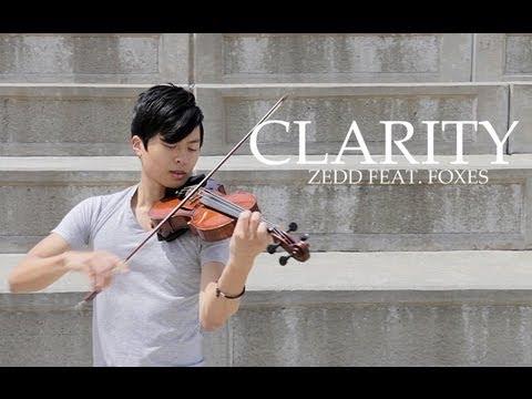Clarity - Violin & Piano cover - Zedd feat. Foxes - Daniel Jang