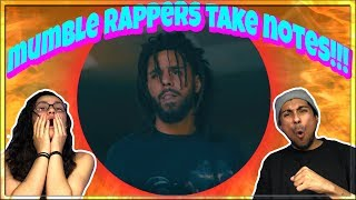 J. Cole - Album Of The Year Freestyle (Official Music Video) REACTION