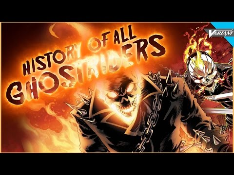 History Of Every Ghost Rider!